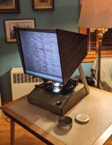 Microfilm Reader!